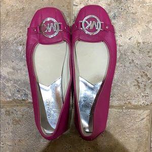 Women's pink MK flats Size 8